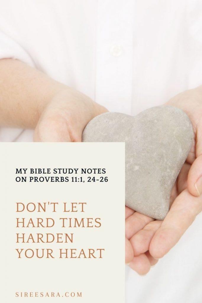 bible study proverbs 11